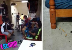 neighbour turns common area into private corner for friends