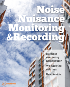 Noise Nuisance Monitoring and Recording Service Brochure