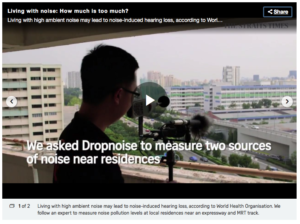 Living with noise pollution Singapore